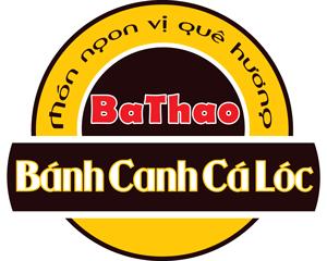 Logo quán bánh canh cá lóc bathao