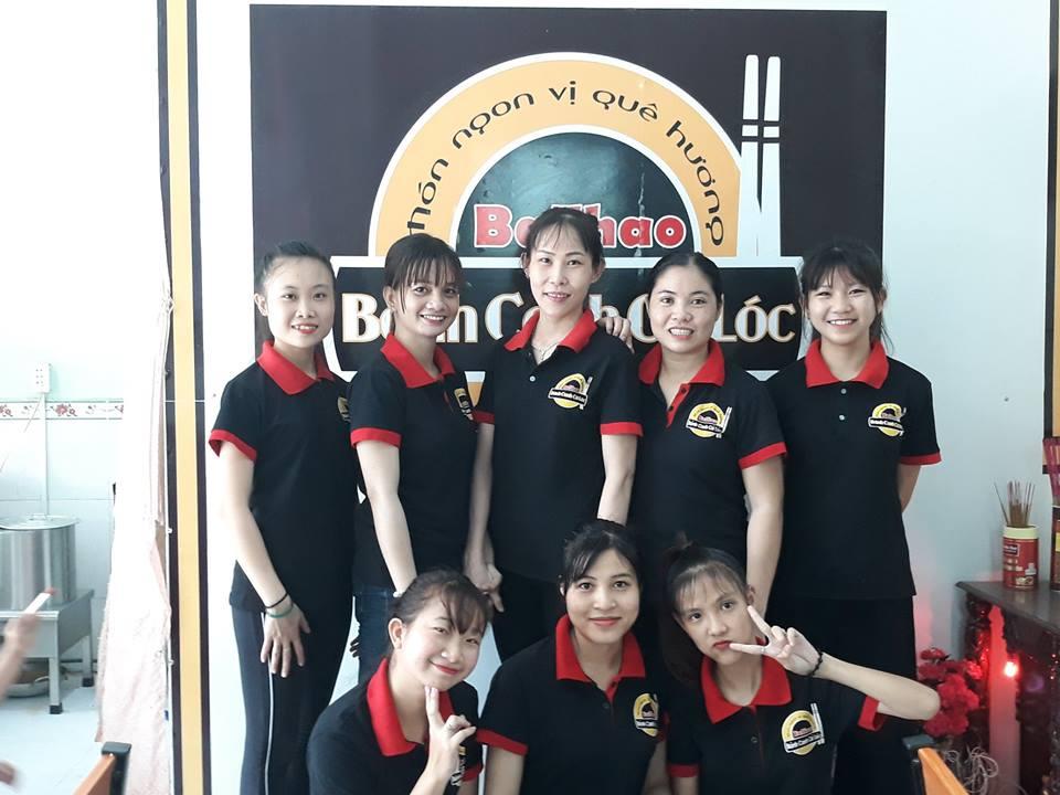 Đồng phục nhân viên quán bánh canh cá lóc BaThao