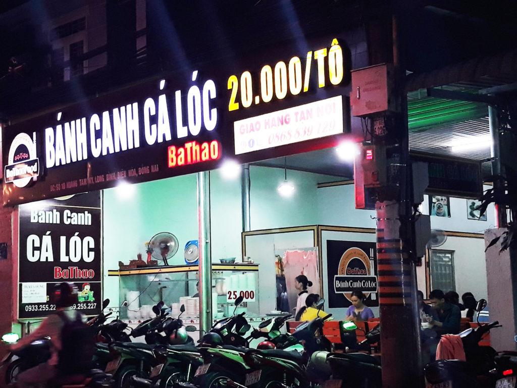 Bánh canh cá lóc Quảng Trị tại Đồng Nai