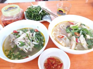 Menu thực đơn Món bánh canh cá lóc BaThao