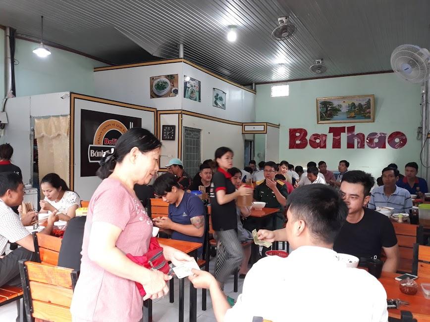 Ba Thao là quán bánh canh cá lóc nổi tiếng không chỉ miền trung mà tại miền nam