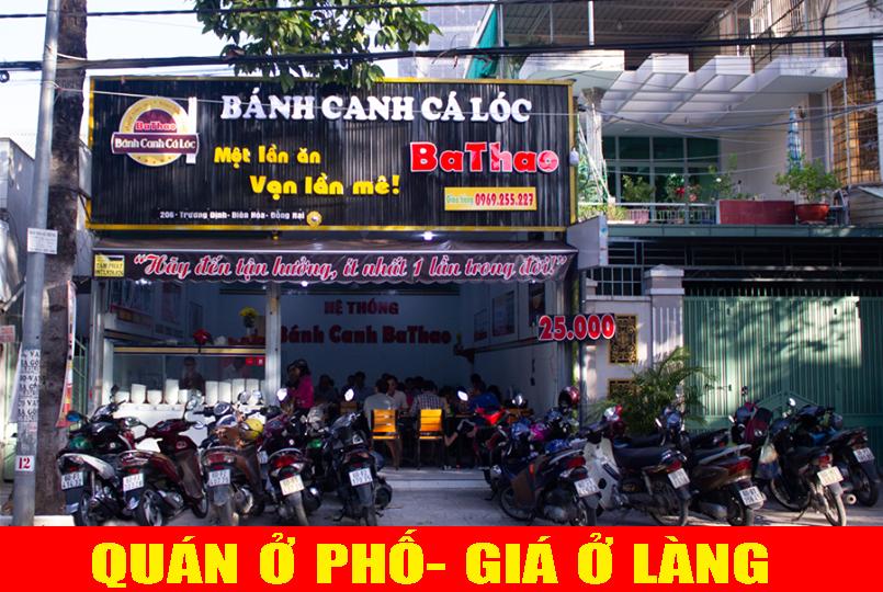 Các món ăn tại BaThao đều mang đậm hương vị miền trung