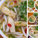 Hướng dẫn làm bánh canh cá lóc Quảng Trị