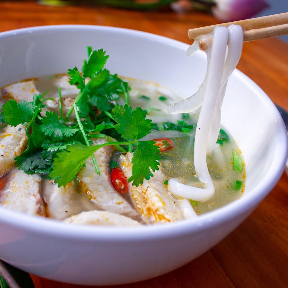 Tô bánh canh cá lóc bathao mang hương vị Miền trung